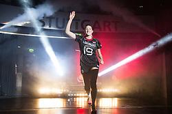 18.07.2015, Porsche-Arena, Stuttgart, GER, FIVB World Grand Prix, Deutschland vs Serbien, im Bild Laura Weihenmaier #19 (Deutschland/Germany) // during the FIVB World Grand Prix Match Germany vs Serbia Porsche-Arena in Stuttgart, Germany on 2015/07/18. EXPA Pictures © 2015, PhotoCredit: EXPA/ Eibner-Pressefoto/ Wuechner<br /> <br /> *****ATTENTION - OUT of GER*****