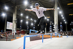 May 20, 2018 - Oslo, NORWAY - 180520 Petter Brunvatne of Norway competes in the men's street skateboard finals during X Games Norway on May 20, 2018 in Oslo.Photo: Fredrik Varfjell / BILDBYRÃ…N / kod FV / 150098 (Credit Image: © Fredrik Varfjell/Bildbyran via ZUMA Press)