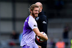 Gareth Steenson of Exeter Chiefs prior to kick off - Mandatory by-line: Ryan Hiscott/JMP - 21/09/2019 - RUGBY - Sandy Park - Exeter, England - Exeter Chiefs v Bath Rugby - Premiership Rugby Cup