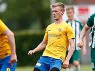 FODBOLD: Emil Bendtsen (Ølstykke FC) under kampen i Serie 1 mellem Ølstykke FC og Brede IF den 3. juni 2017 på Ølstykke Stadion. Foto: Claus Birch