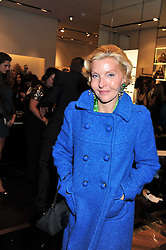 WENDY, COUNTESS OF CALEDON at a party hosted by Roberto Cavalli to celebrate his new Boutiques's opening at 22 Sloane Street, London followed by a party at Battersea Power Station, London SW8 on 17th September 2011.