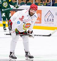 2019-12-14 | Umeå, Sweden:Almtuna (5) Per Svensson in  HockeyAllsvenskan during the game  between Björklöven and Almtuna at A3 Arena ( Photo by: Michael Lundström | Swe Press Photo )<br /> <br /> Keywords: Umeå, Hockey, HockeyAllsvenskan, A3 Arena, Björklöven, Almtuna, mlba191214