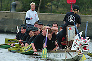 "London; GREAT BRITAIN;  Dragon Boats competing in London Dockland.  [Mandatory Credit; ""Photo, Peter Spurrier/Intersport-images]"