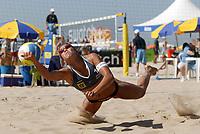 Beachvolleyball, 22. september 2004,  RIO DE JANEIRO<br /> Nila Håkedal, NORGE<br /> FOTO LUCIANO PIERANUNZI, DIGITALSPORT