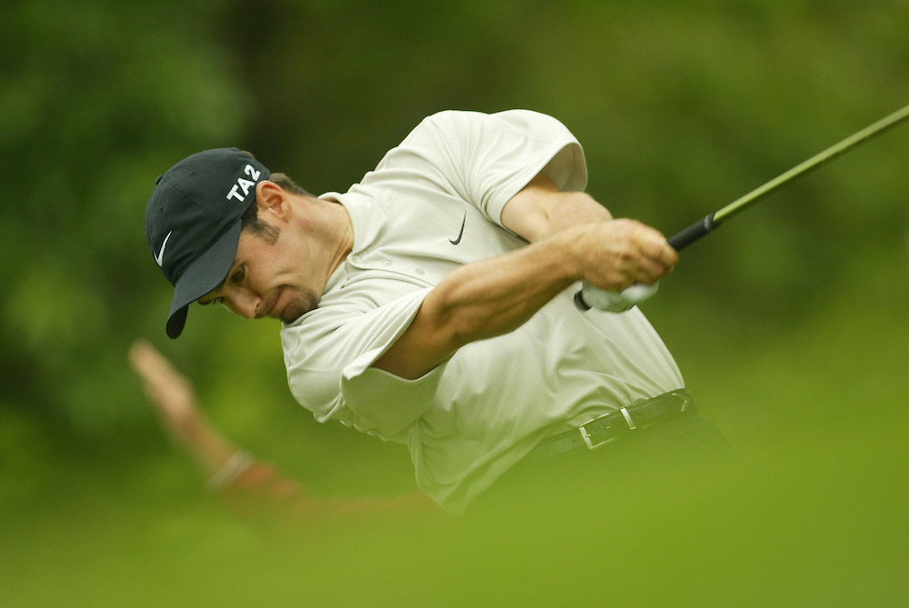 Trevor Immelman..2003 U.S. Open..First Round..Olympia Fields CC..Chicago, IL..Thursday June 12 2003..photograph by Darren Carroll