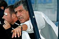 willem II - paok saloniki , 19-07 -2009  , eredivisie voetbal , seizoen 200-2010 . voorbereiding , oefenwedstrijd . fernando santos