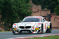 Lee Mowle (GBR) / Joe Osborne (GBR)  #7 AmDTuning.com  BMW Z4 GT3  BMW 4.4L V8 British GT Championship at Oulton Park, Little Budworth, Cheshire, United Kingdom. May 28 2016. World Copyright Peter Taylor/PSP.