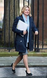 © London News Pictures. 18/12/2012. London, UK.    Secretary of State for International Development Justine Greening MP arriving on Downing Street, in London for cabinet meeting on December 18, 2012 Photo credit: Ben Cawthra/LNP.