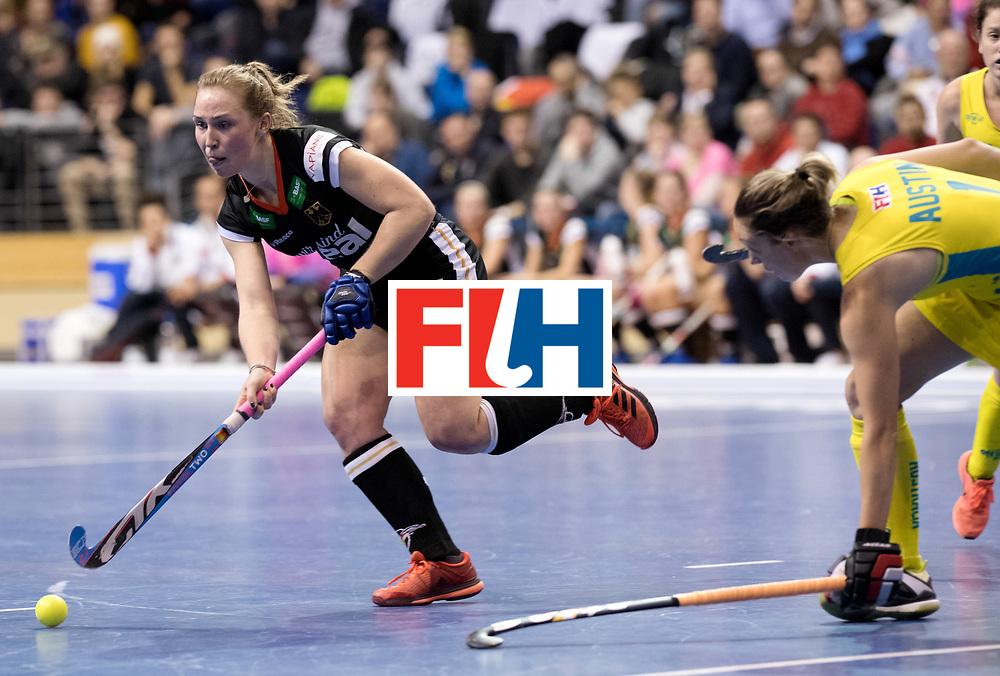 BERLIN - Indoor Hockey World Cup<br /> Women: Germany  - Australia<br /> foto: Nike Lorenz.<br /> WORLDSPORTPICS COPYRIGHT FRANK UIJLENBROEK