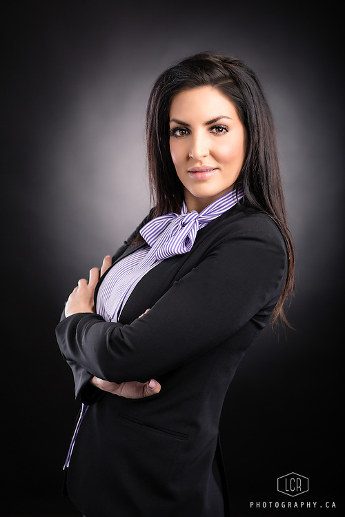LCR Photography, Calgary corporate headshot of Natasha P.