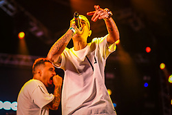 Marcelo D2 se apresenta no Palco Atlântida durante a 22ª edição do Planeta Atlântida. O maior festival de música do Sul do Brasil ocorre nos dias 3 e 4 de fevereiro, na SABA, na praia de Atlântida, no Litoral Norte gaúcho.  Foto: Lucas Uebel / Agência Preview