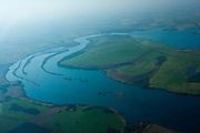 Uberlandia_MG, Brasil...Vista aerea do Rio Grande, entre Minas Gerais e Sao Paulo...Aerial view of Rio Grande, between Minas Gerais and Sao Paulo...Foto: BRUNO MAGALHAES /  NITRO