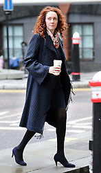 Rebekah Brooks arriving at the Phone hacking trial at the Old Bailey in London, Tuesday, 25th February 2014. Picture by Stephen Lock / i-Images
