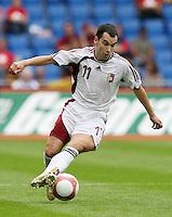 Fussball International Laenderspiel Schweiz - Venezuela Ricardo Paez (VEN)