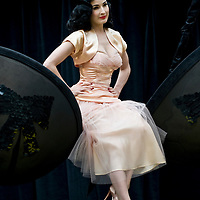 "London Sep 23 - Dita Von Teese launches ""Wonderbra by Dita Von Teese"" at the Covent Garden Piazza, Covent Garden in London, on September 23rd..Please telephone : +44 (0)845 0506211 for usage fees .***Licence Fee's Apply To All Image Use***.IMMEDIATE CONFIRMATION OF USAGE REQUIRED.*Unbylined uses will incur an additional discretionary fee!*.XianPix Pictures  Agency  tel +44 (0) 845 050 6211 e-mail sales@xianpix.com www.xianpix.com"