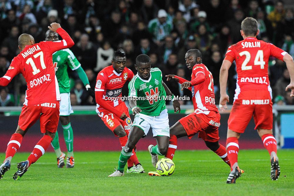 Max Alain GRADEL - 21.12.2014 - Saint Etienne / Evian Thonon - 19eme journee de Ligue 1<br />Photo : Jean Paul Thomas / Icon Sport