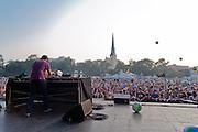 SBTRKT at North Coast Music Festival in Chicago, IL on September 2, 2011