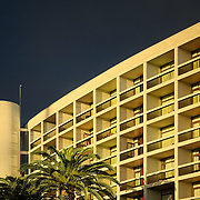Pestana Casino Park Hotel in Funchal, Madeira. Designed by Brazillian Architect Oscar Niemeyer