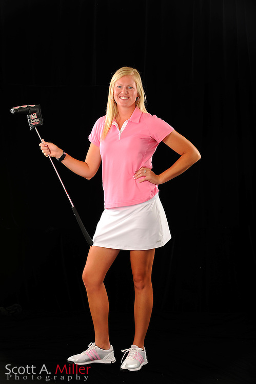 Stacey Miller during a portrait shoot prior to the Symetra Tour's Florida's Natural Charity Classic at the Lake Region Yacht and Country Club on March 20, 2012 in Winter Haven, Fla. ..©2012 Scott A. Miller.
