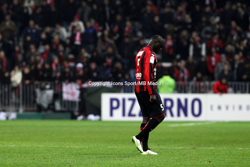 Kevin GOMIS  - 23.01.2015 - Nice / Marseille - 22eme journee de Ligue 1<br />Photo : Jean Christophe Magnenet / Icon Sport