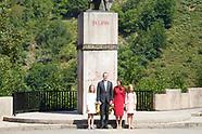 090818 Spanish Royals visit Asturias, Basilica de Covadonga