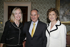Aras an Uachtarain on 6th November 2008 was President Mary McAleese receiving University Officials