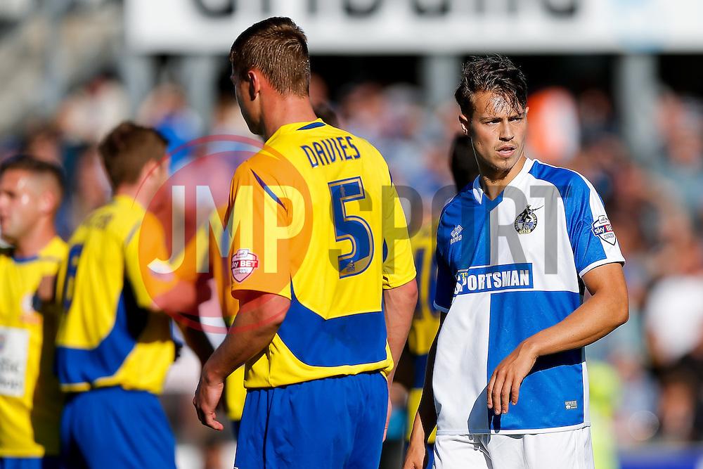 Billy Bodin of Bristol Rovers in action - Mandatory byline: Rogan Thomson/JMP - 07966 386802 - 12/09/2015 - FOOTBALL - Memorial Stadium - Bristol, England - Bristol Rovers v Accrington Stanley - Sky Bet League 2.