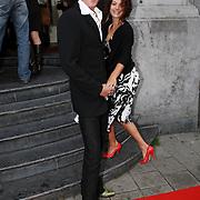 NLD/Amsterdam/20070910 - Voorpremiere Sextet, Tygo gernandt en partner Eva van de Wijdeven