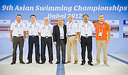9th Asian Swimming Championships.Dubai - U.A.E.  Nov.15th - 25th 2012.Photo Giorgio Perottino/Deepbluemedia/Insidephoto