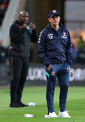 Middlesbrough manager Tony Pulis on on the touchline during the Sky Bet Championship match at the Riverside Stadium, Middlesbrough