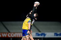 Stan South of Exeter Braves wins the line out - Mandatory by-line: Ryan Hiscott/JMP - 16/12/2019 - RUGBY - Sandy Park - Exeter, England - Exeter Braves v Bath United - Premiership Rugby Shield