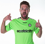 Forest Green Rovers Scott Laird during the 2018/19 official team photocall for Forest Green Rovers at the New Lawn, Forest Green, United Kingdom on 30 July 2018. Picture by Shane Healey.