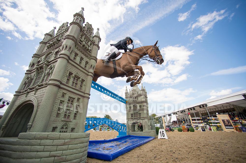 Janika Sprunger  (SUI) & Aris Cms- Rolex Grand Prix - CSI5* Jumping - Royal Windsor Horse Show - Home Park, Windsor, United Kingdom - 14 May 2017