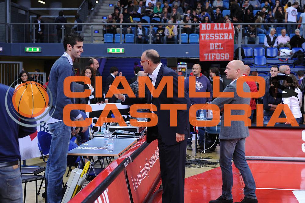 DESCRIZIONE : Pesaro Lega A 2010-11 Scavolini Siviglia Pesaro Lottomatica Virtus Roma<br /> GIOCATORE : Dusan Sakota Matteo Boniciolli<br /> SQUADRA : Scavolini Siviglia Pesaro<br /> EVENTO : Campionato Lega A 2010-2011<br /> GARA : Scavolini Siviglia Pesaro Lottomatica Virtus Roma<br /> DATA : 24/10/2010<br /> CATEGORIA : <br /> SPORT : Pallacanestro<br /> AUTORE : Agenzia Ciamillo-Castoria/M.Marchi<br /> Galleria : Lega Basket A 2010-2011<br /> Fotonotizia : Pesaro Lega A 2010-11 Scavolini Siviglia Pesaro Lottomatica Virtus Roma<br /> Predefinita :