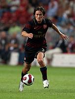 Photo: Maarten Straetemans.<br /> Arsenal v Ajax. LG Amsterdam Tournament. 04/08/2007.<br /> Tomas Rosicky (Arsenal)