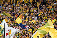 SYDNEY, NSW- NOVEMBER 15: Australian fans at the Soccer World Cup Qualifier between Australia and Honduras on November 10, 2017. (Photo by Steven Markham/Icon Sportswire)