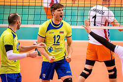 20-05-2018 NED: Netherlands - Slovenia, Doetinchem<br /> First match Golden European League / Jan Klobucar #12 of Slovenia