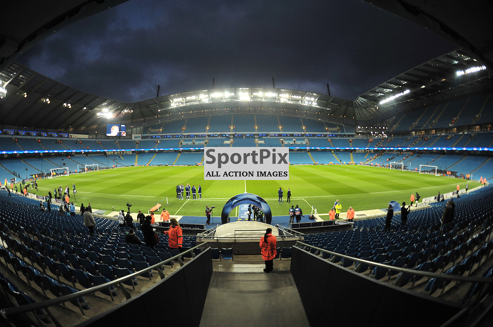 Etihad Stadium<br /> <br /> Manchester City v Dynamo Kiev, UEFA Champions League, Tuesday 15th March 2016<br /> <br /> (c) Alex Todd | SportPix.org.uk