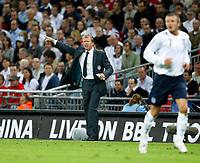 Photo: Richard Lane/Sportsbeat Images.<br />England v Germany. International Friendly. 22/08/2007. <br />England's head coach, Steve McClaren.