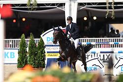 Knippling, Andreas (GER) Tannenhof´s Chacco Chacco<br /> Münster - Turnier der Sieger 2016<br /> © www.sportfotos-lafrentz.de