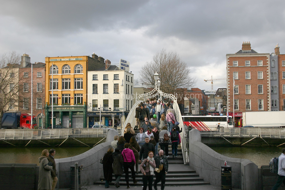 Hapenny Bridge, Dublin, Ireland