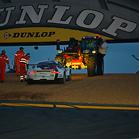 #92 Porsche 911 RSR, Porsche AG Team Manthey, drivers: Dumas, Lieb, Lietz, GTE PRO, Le Mans 24H 2013