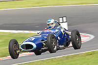 HSCC Gold Cup Oulton Park, Cheshire, United Kingdom.  28th-29th August 2011.  Race 2 HSCC/HFJRA JMW Front Engined Series. Historic Formula Junior Race A (Class A - B). 13 Keith Roach Gemini Mk2. World Copyright: Peter Taylor/PSP. Copy of publication required for printed pictures. Every used picture is fee-liable.