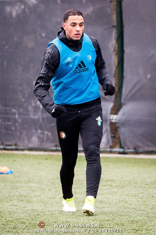 NLD/Rotterdam/20180301 - Training Feyenoord voor de bekerfinale, Sofyan Amrabat