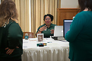 The 2017 Campus Communication Network Expo in Walter Hall on Wednesday, May 10, 2017. © Ohio University / Photo by Kaitlin Owens