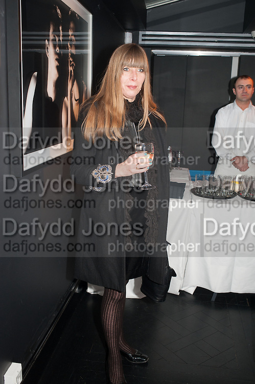 ROSAMUND DEGENHARDT, Drag Queens, Rent Boys, Pick Pockets, Junkies, Rockstars and Punks,, Leee Black Childers ,  book launch and exhibition opening. <br />  The Vinyl Factory Chelsea, Walton St. London. 5 December 2012.