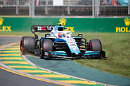 ALBERT PARK, VIC - MARCH 15: Williams Racing driver Robert Kubica (88) runs off the track at The Australian Formula One Grand Prix on March 15, 2019, at The Melbourne Grand Prix Circuit in Albert Park, Australia. (Photo by Speed Media/Icon Sportswire)