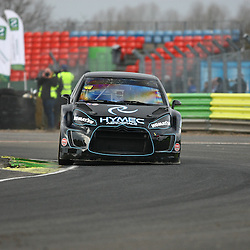 British Rallycross legend Pat Doran retruns to the sport this year. He claimed fourth place. First round of the British Rallycross Championship held at Croft Circuit. (c) Matt Bristow | SportPix.org.uk