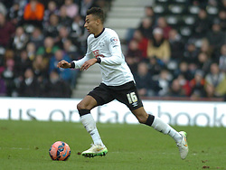Jesse Lingard Derby County,  Derby County v Reading, FA Cup 5th Round, The Ipro Stadium, Saturday 14th Febuary 2015