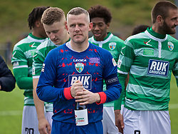 RHOSYMEDRE, WALES - Sunday, May 5, 2019: The New Saints' captain goalkeeper Paul Harrison after the FAW JD Welsh Cup Final between Connah's Quay Nomads and The New Saints at The Rock. TNS won 3-0. (Pic by David Rawcliffe/Propaganda)